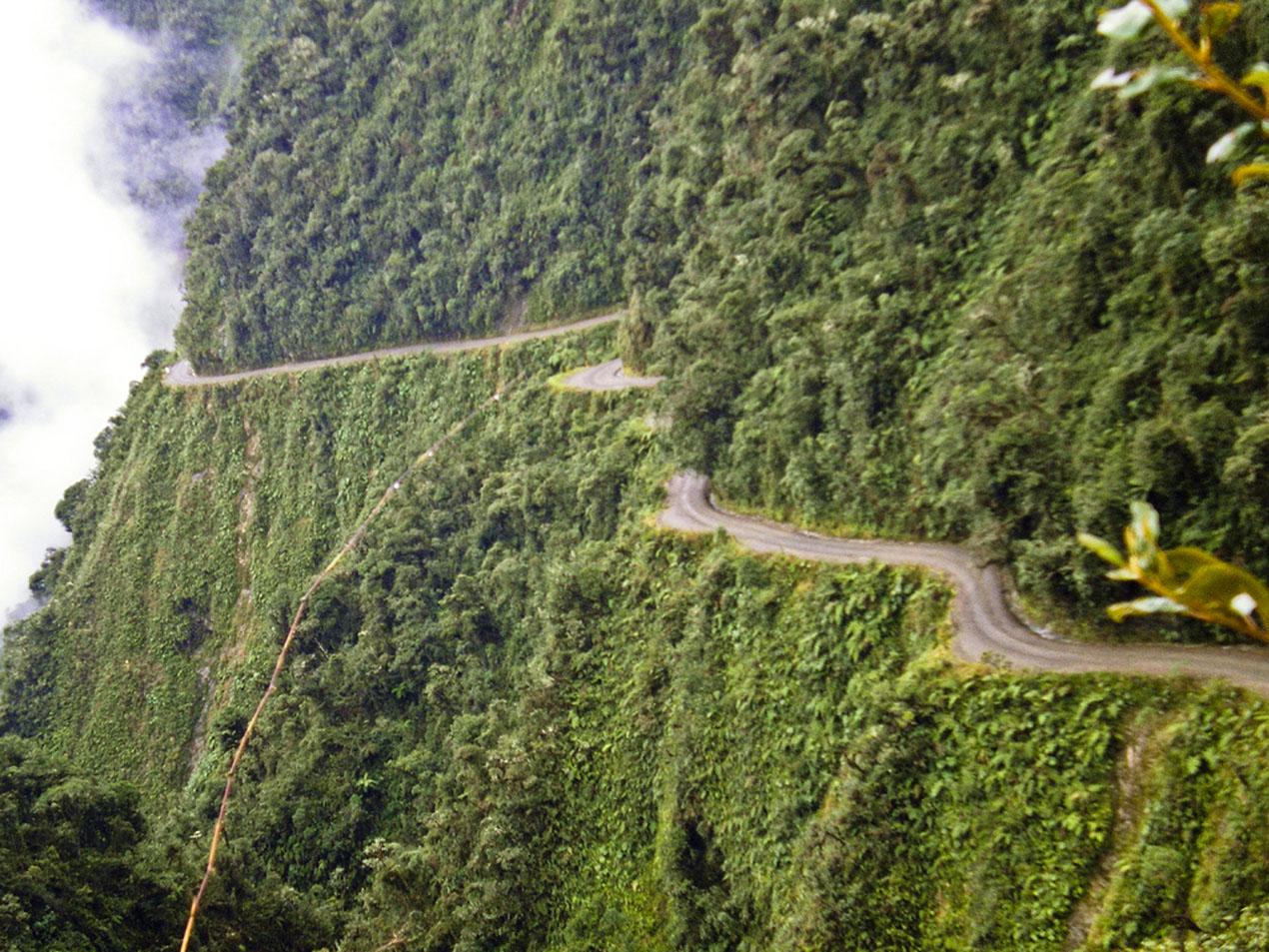 camino de la muerte boliviano