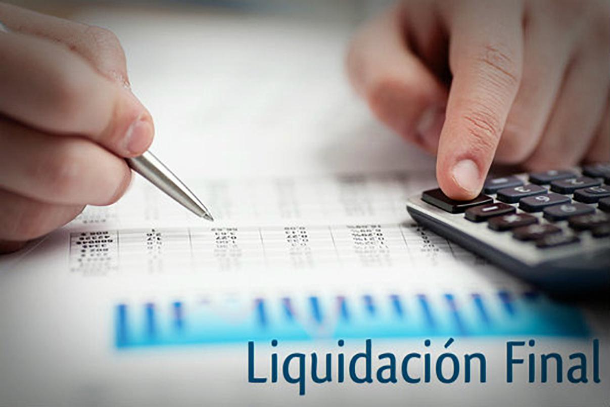 Liquidacion final renuncia