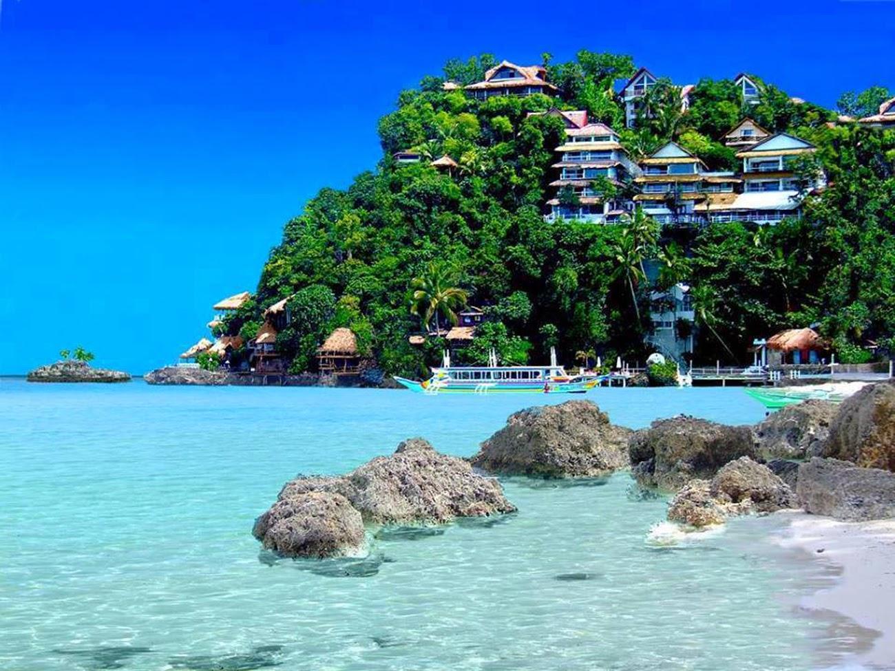 boracay beach filipinas punta bunga resort