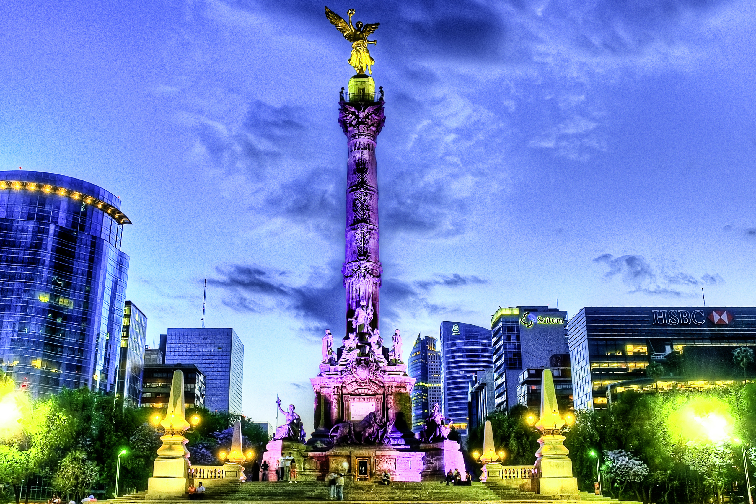 Angel de la Independencia, Mexico City