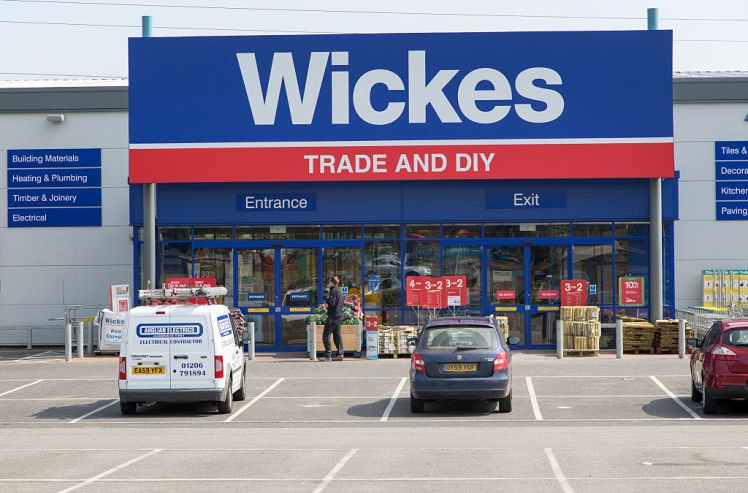 Wickes trade and DIY shop in central Ipswich, Suffolk, England, UK. (Photo by: Geography Photos/UIG via Getty Images)
