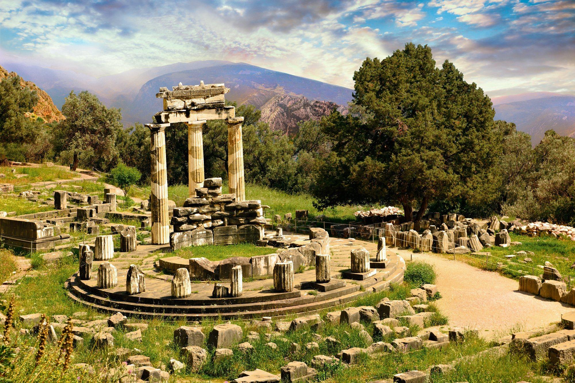 Templo de Atenea Pronaia
